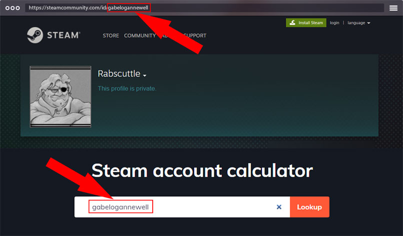 how to find my steam ID